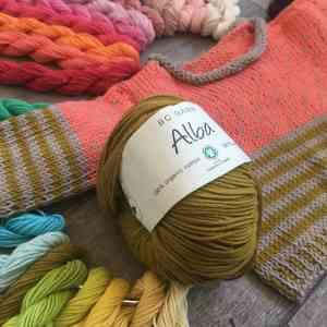 Alba de BC Garn - Un fil pour l'été , Alba de BC Garn 100% coton biologique certifié GOTS 160m/50g