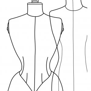 Carnet de croquis - Accessoire ultime de tous les stylistes, ce carnet de croquis spécialement étudié pour la Mode est conçu comme un aide-mémoire pendant les shoppings, ce carnet de croquis de feuilles blanches semi-transparentes propose une jaquette pliable avec des gabarits de silhouettes féminines et masculines.  Souvent à la base d'une collection, les croquis sont l'illustration d'une idée dessinée à main levée permettant de travailler le tombé et les volumes d'un vêtement par rapport à une silhouette.  Une série de gammes de couleurs donne également un repère visuel avec leurs dénominations en français et en anglais et leurs références informatiques.