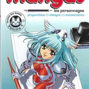 Apprendre à dessiner les mangas - Vol. 1 - Apprendre les bases du dessin de Manga, étape par étape. L'esprit manga. Le matériel : la technique de dessin au stylo. Toutes les étapes décrites et montrées en images pour savoir dessiner : les visages, les silhouettes, différents types de personnages de Manga. Les petites erreurs communes : les connaître et les éviter.