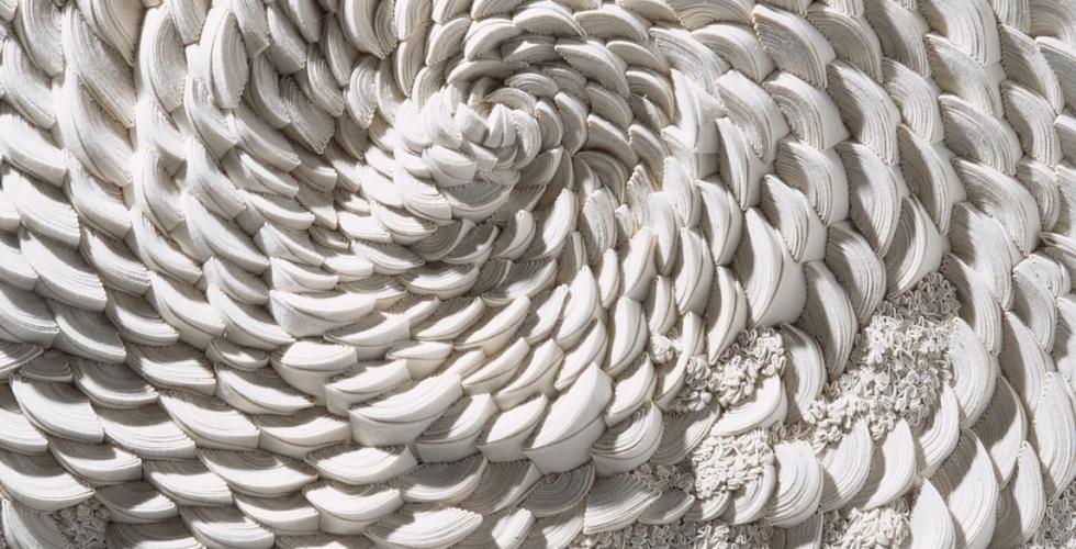 Simone Pheulpin artiste textile présente Jusqu'au 16 décembre, à la Chapelle Expiatoire dans le VIIIème arrondissement de Paris- Aiguille en fête 2018