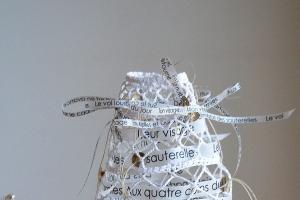Mon visage - NLeverger - Nathalie Leverger - artiste invitée - blanc : tradition passion - AEF 2018