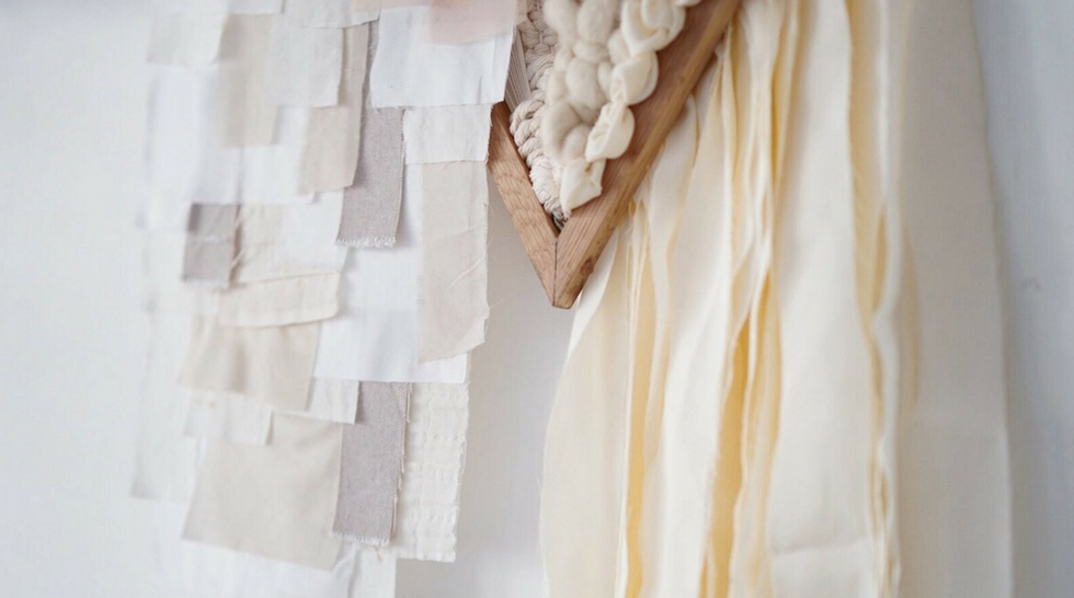 Julie Robert est designer textile spécialisée dans le tissage contemporain - Aiguille en fête 2018