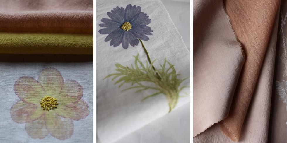 Découvrez les teintures végétales de Bernadette Teyras