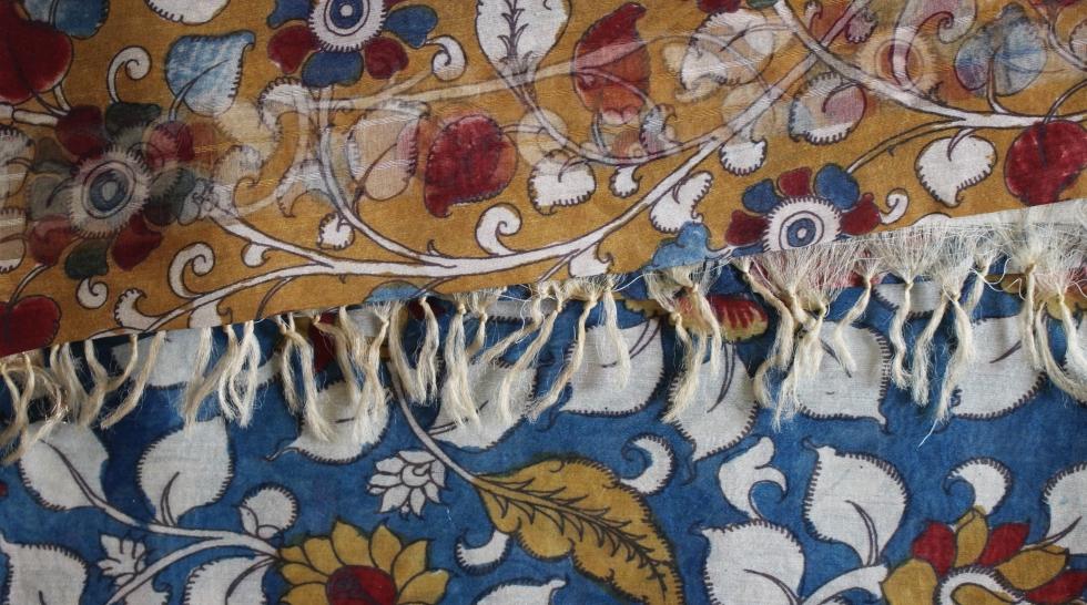 Textiles rares de l'Inde Portrait Nadia Kolesnikoff