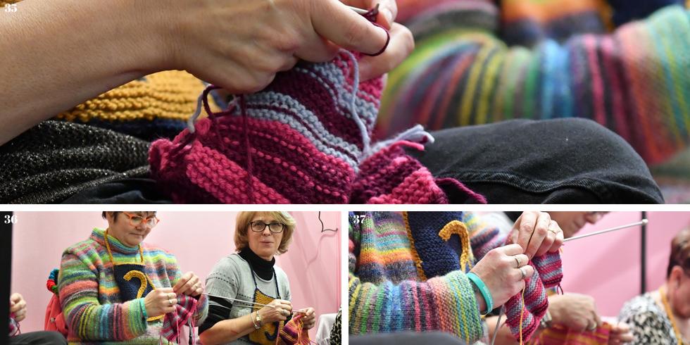 Speed knitting 2