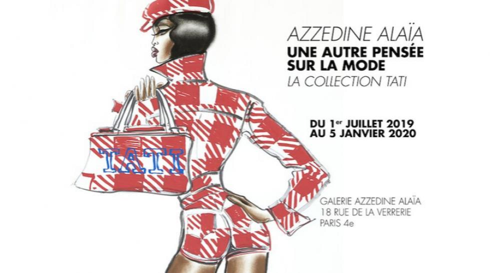 Affiche Azzedine Alaïa