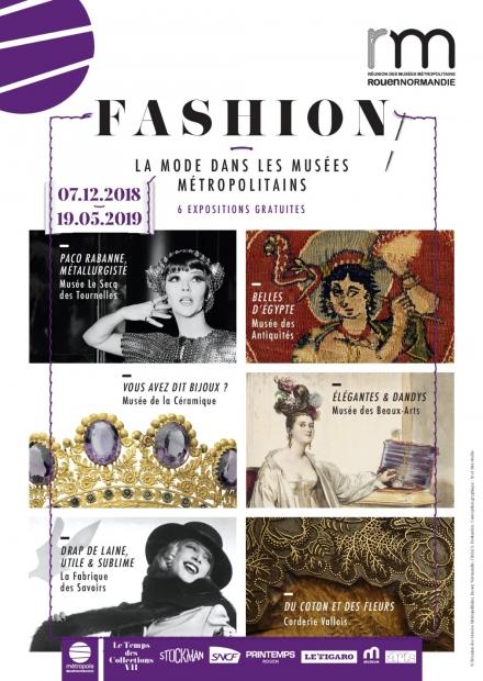 Découvrez l'exposition Fashion sur la mode dans les musées métropolitains
