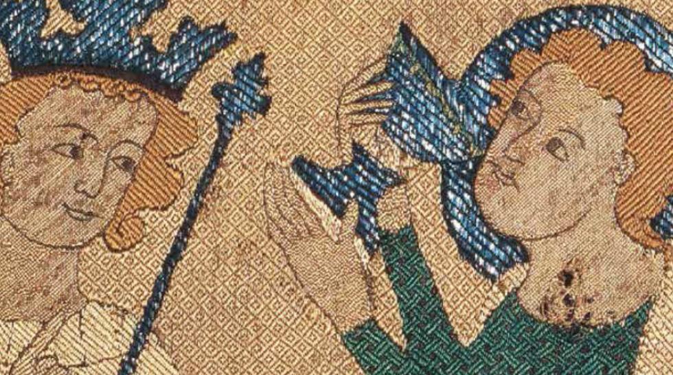 L'art en broderie au Moyen Age couv