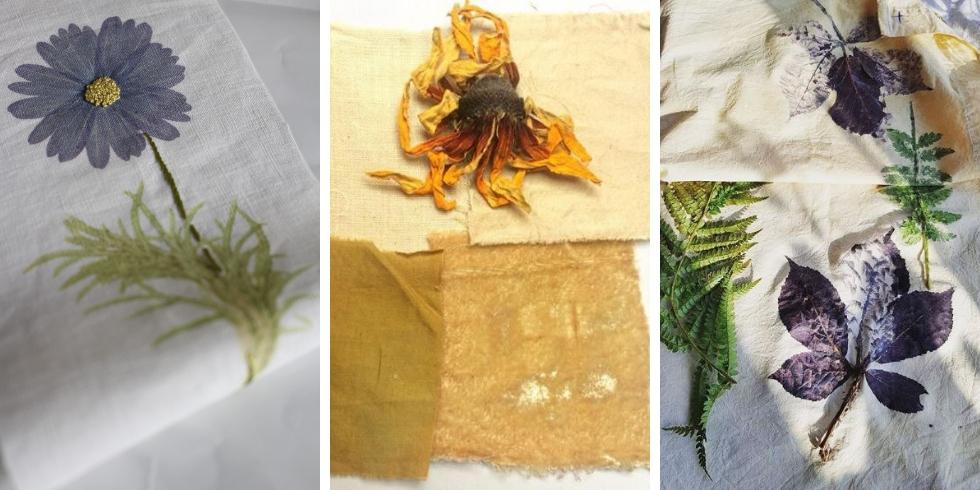 Les ateliers teinture végétale sur le salon 2019