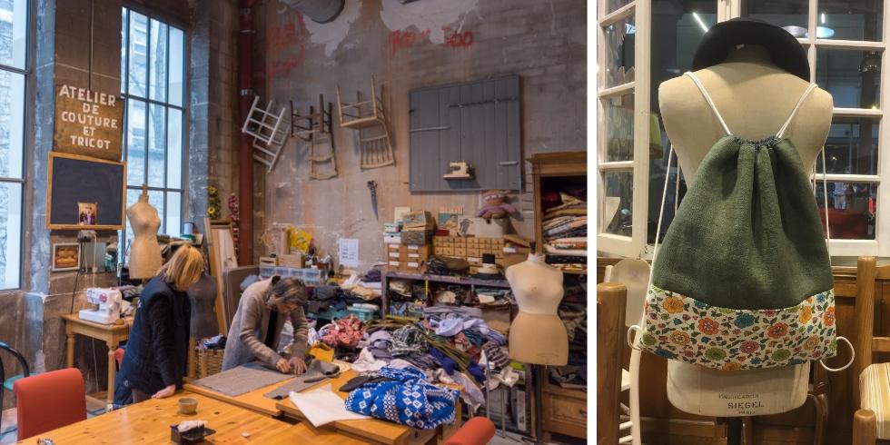 Découvrez les ateliers couture animés par Emmaüs Défi