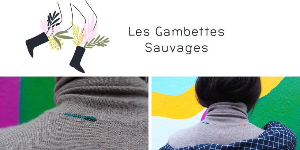 Découvrez l'atelier couture proposé par les gambettes sauvages