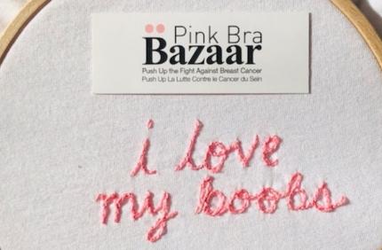 Découvrez l'animation Pink Bra Bazaar 2019