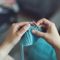 Découvrez le Speed Knitting du salon Aiguille en fête 2019