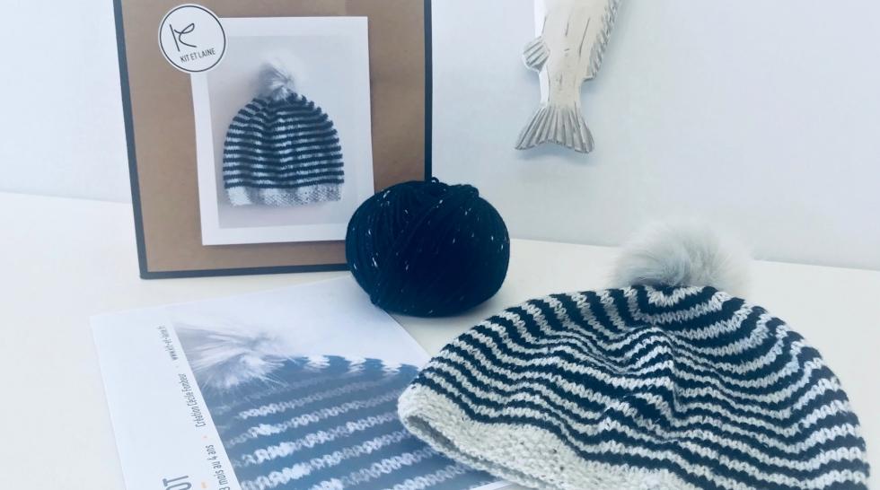Découvrez le kit à tricoter à gagner de Kit et Laine
