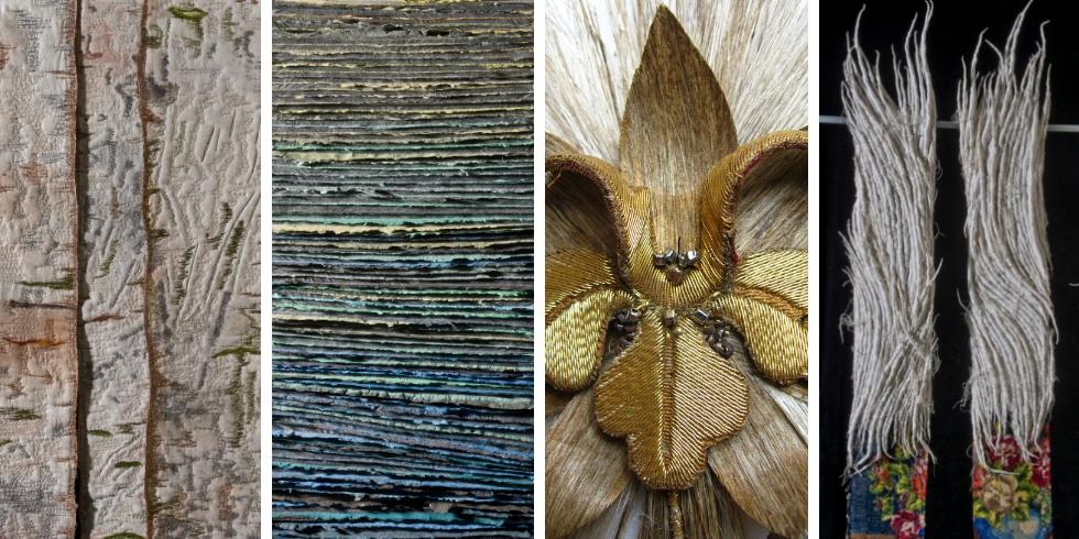 Créations d'art textile contemporain d'Artextures