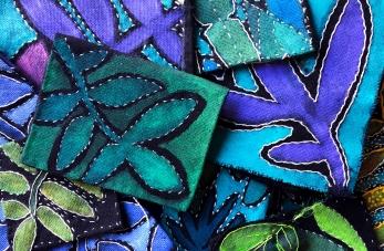 Découvrez les créations textile d'Isabelle Riener