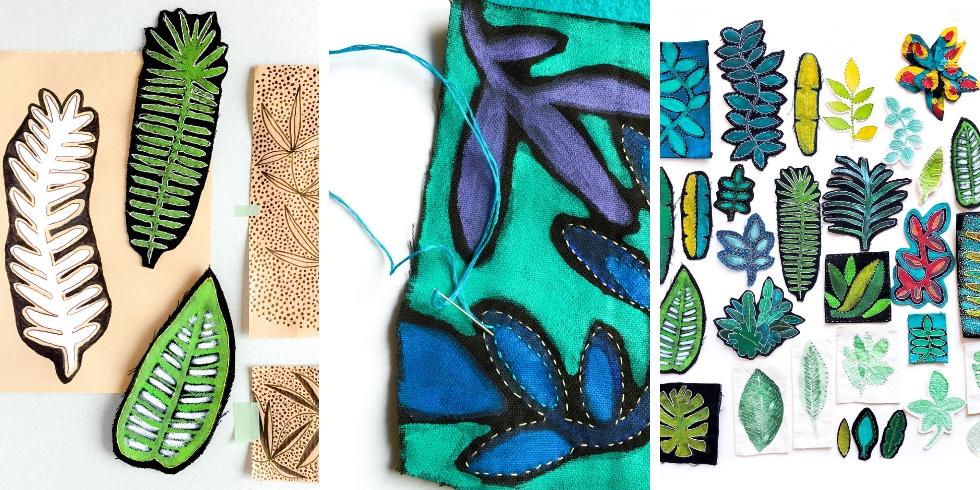 Plongez dans l'univers textile inspiré par le  végétal d'Isabelle Riener