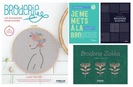 Jeu concours Eyrolles Broderie couverture